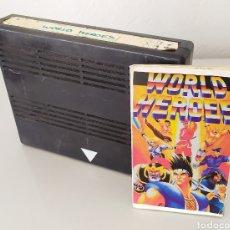 Videojuegos y Consolas: WORLD HEROES NEO GEO VIDEOJUEGO CONSOLA. Lote 224442902