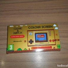 Videojuegos y Consolas: SUPER MARIO BROS ANIVERSARIO NINTENDO GAME WATCH NUEVA PRECINTADA. Lote 224971010