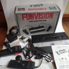 Videogiochi e Consoli: FUNVISION - HOME COMPUTER GAME - EN CAJA - COMPLETO - MUY BUEN ESTADO - FUNCIONANDO. Lote 224976855