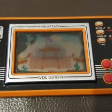 Videojogos e Consolas: ANTIGUA MAQUINITA GAME & WATCH FIRE ATTACK WIDE SCREEN FUNCIONANDO NINTENDO 1982. Lote 225028555
