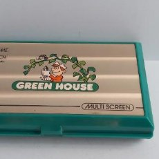 Videojuegos y Consolas: ANTIGUA MAQUINITA GAME WATCH DE NINTENDO GREEN HOUSE. Lote 253167060