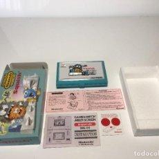 Videojuegos y Consolas: GAME WATCH NINTENDO SQUISH, MULTI SCREEN,DOBLE PANATALLA JUEGO ELECTRONICO, MAQUINITA. Lote 225367230