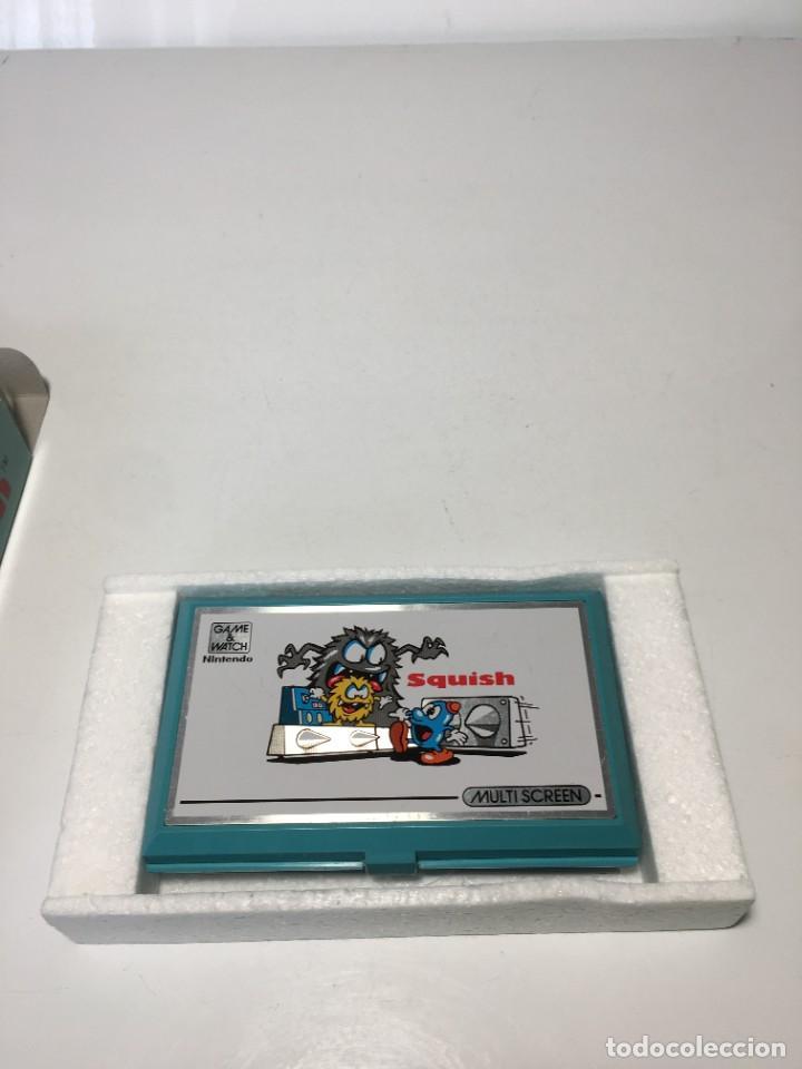 Videojuegos y Consolas: Game Watch Nintendo Squish, multi screen,doble panatalla juego electronico, maquinita - Foto 4 - 225367230