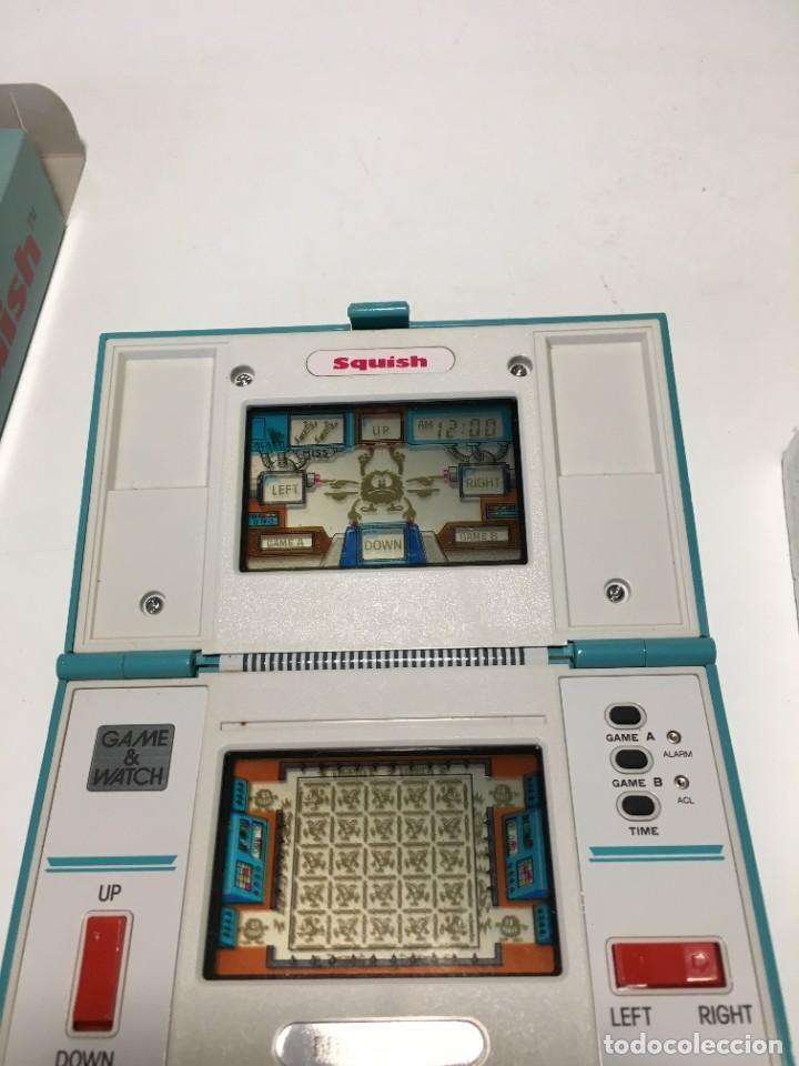 Videojuegos y Consolas: Game Watch Nintendo Squish, multi screen,doble panatalla juego electronico, maquinita - Foto 5 - 225367230