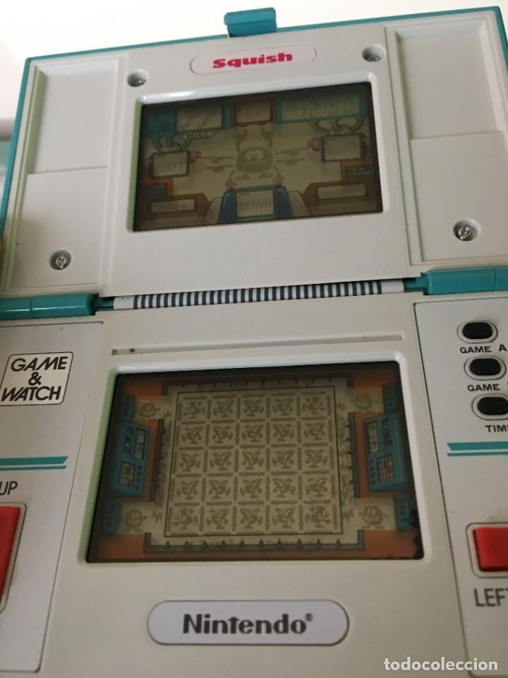 Videojuegos y Consolas: Game Watch Nintendo Squish, multi screen,doble panatalla juego electronico, maquinita - Foto 6 - 225367230