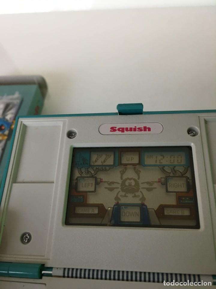 Videojuegos y Consolas: Game Watch Nintendo Squish, multi screen,doble panatalla juego electronico, maquinita - Foto 7 - 225367230