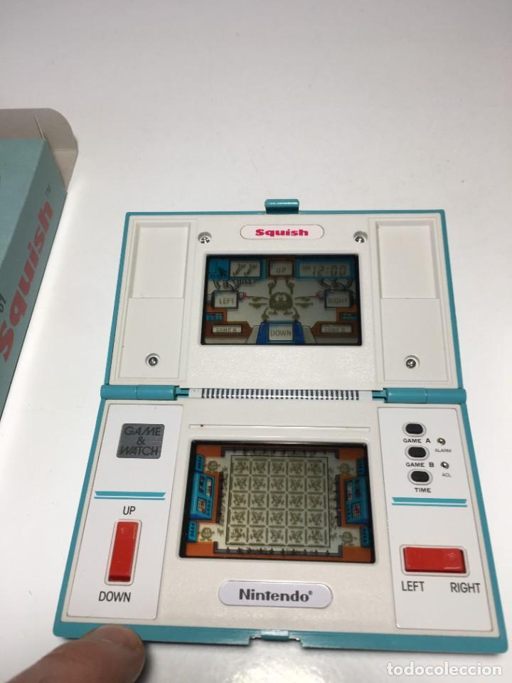 Videojuegos y Consolas: Game Watch Nintendo Squish, multi screen,doble panatalla juego electronico, maquinita - Foto 8 - 225367230