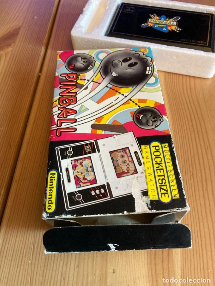 Videojuegos y Consolas: Game Watch Nintendo Pinball, multi screen,coleccion Pocket Size doble panatalla - Foto 3 - 225385425