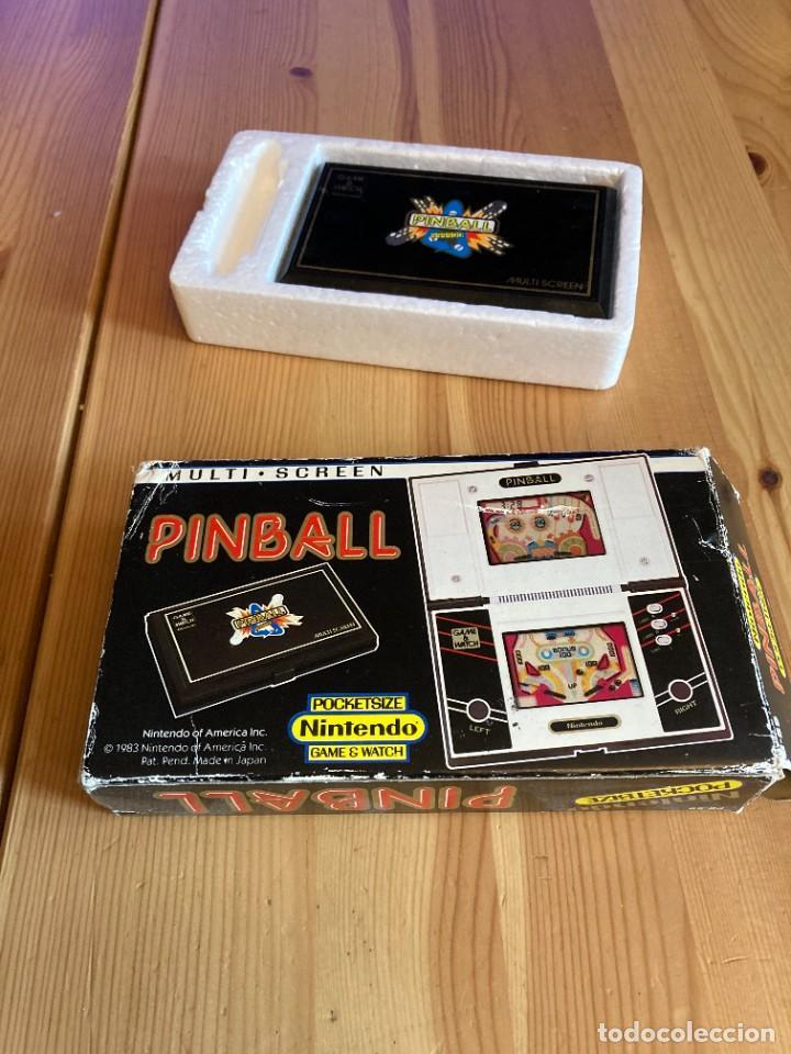 Videojuegos y Consolas: Game Watch Nintendo Pinball, multi screen,coleccion Pocket Size doble panatalla - Foto 4 - 225385425