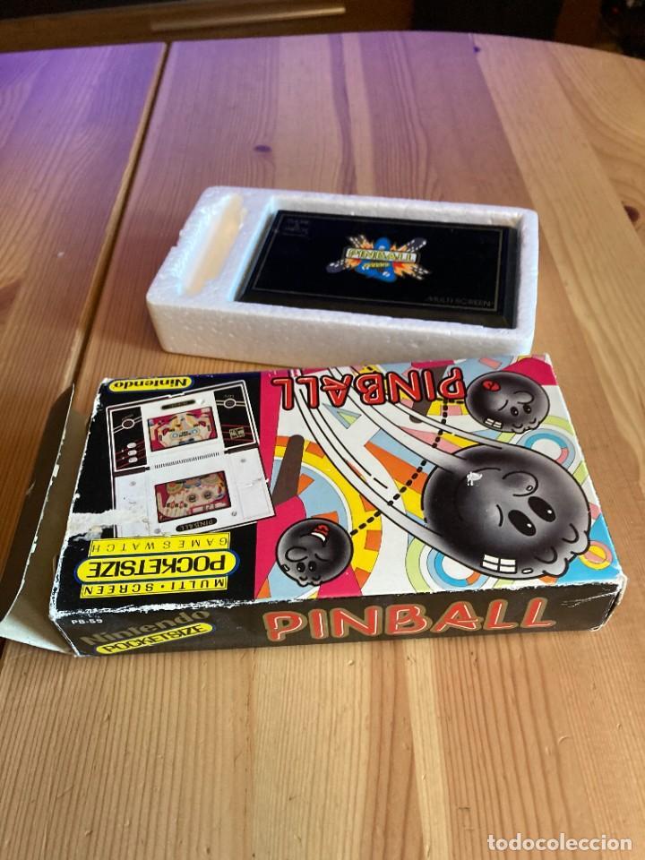 Videojuegos y Consolas: Game Watch Nintendo Pinball, multi screen,coleccion Pocket Size doble panatalla - Foto 5 - 225385425