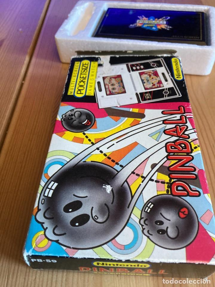 Videojuegos y Consolas: Game Watch Nintendo Pinball, multi screen,coleccion Pocket Size doble panatalla - Foto 6 - 225385425
