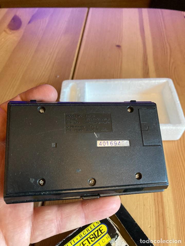Videojuegos y Consolas: Game Watch Nintendo Pinball, multi screen,coleccion Pocket Size doble panatalla - Foto 7 - 225385425