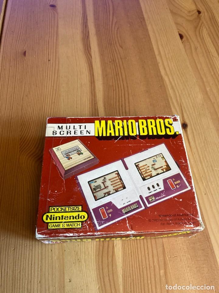 Videojuegos y Consolas: Game Watch Nintendo Mario Bros, multi screen,coleccion Pocket Size doble panatalla - Foto 2 - 225385700