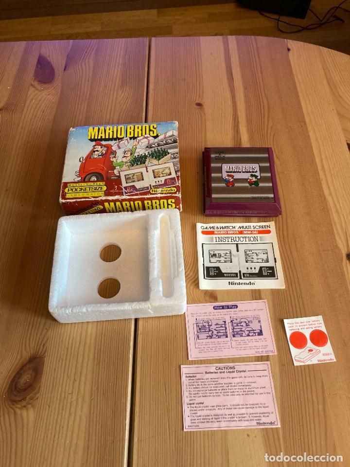 Videojuegos y Consolas: Game Watch Nintendo Mario Bros, multi screen,coleccion Pocket Size doble panatalla - Foto 3 - 225385700
