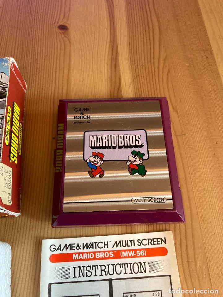 Videojuegos y Consolas: Game Watch Nintendo Mario Bros, multi screen,coleccion Pocket Size doble panatalla - Foto 4 - 225385700