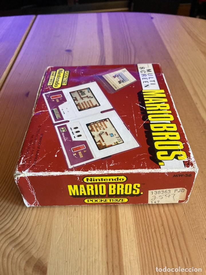 Videojuegos y Consolas: Game Watch Nintendo Mario Bros, multi screen,coleccion Pocket Size doble panatalla - Foto 7 - 225385700