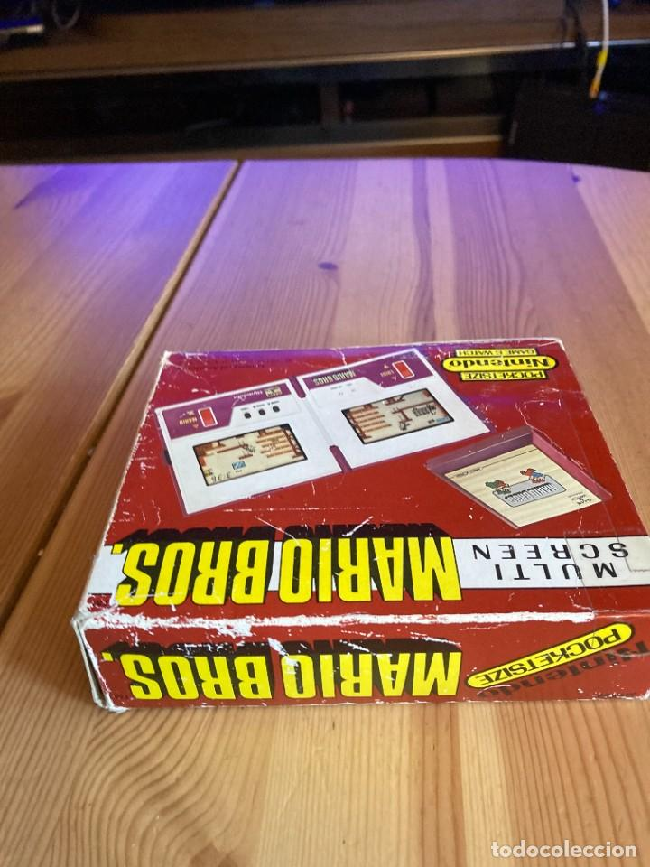 Videojuegos y Consolas: Game Watch Nintendo Mario Bros, multi screen,coleccion Pocket Size doble panatalla - Foto 8 - 225385700