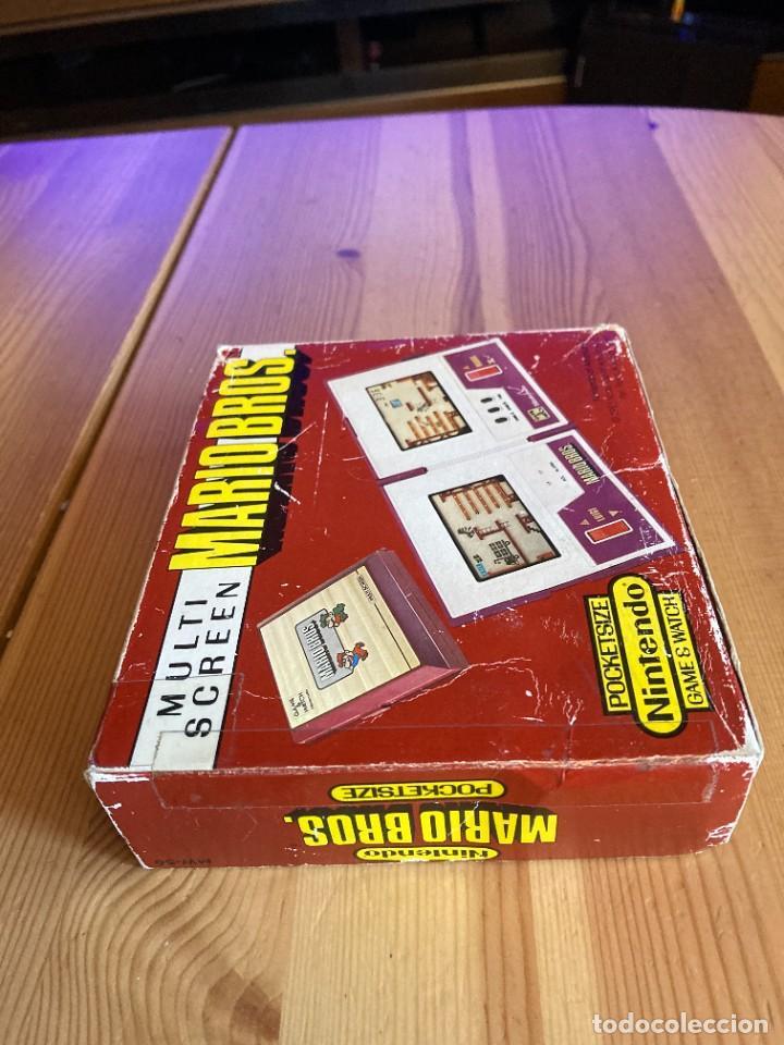 Videojuegos y Consolas: Game Watch Nintendo Mario Bros, multi screen,coleccion Pocket Size doble panatalla - Foto 9 - 225385700