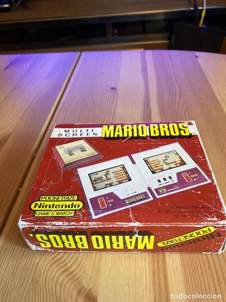 Videojuegos y Consolas: Game Watch Nintendo Mario Bros, multi screen,coleccion Pocket Size doble panatalla - Foto 10 - 225385700