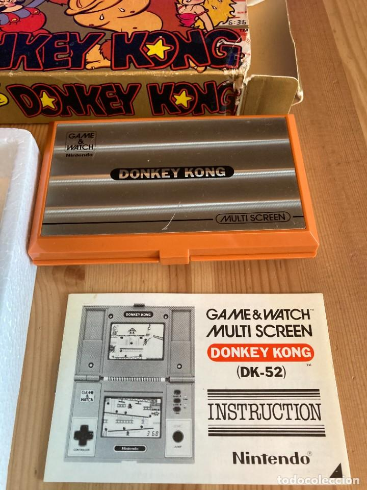 Videojuegos y Consolas: Game Watch Nintendo Donkey Kong, multi screen,coleccion Pocket Size doble panatalla - Foto 6 - 225385870
