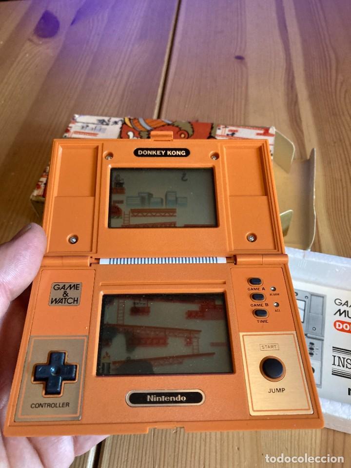 Videojuegos y Consolas: Game Watch Nintendo Donkey Kong, multi screen,coleccion Pocket Size doble panatalla - Foto 7 - 225385870
