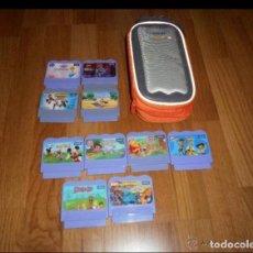 Videojuegos y Consolas: LOTE DE 10 ANTIGUOS JUEGOS-CARTUCHOS* DE *VITECH* DESCATALOGADOS IDEAL COLECCIONISTAS. Lote 225387006