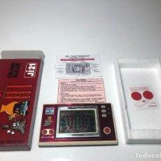 Videojuegos y Consolas: GAME WATCH NINTENDO CEMENTS FACTORY JI21 FRANCESA ,COLECCION NEW WIDE SCREEN. Lote 225388072