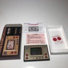 Videojuegos y Consolas: GAME WATCH NINTENDO MANHOLE ,COLECCION GOLD. Lote 225388585