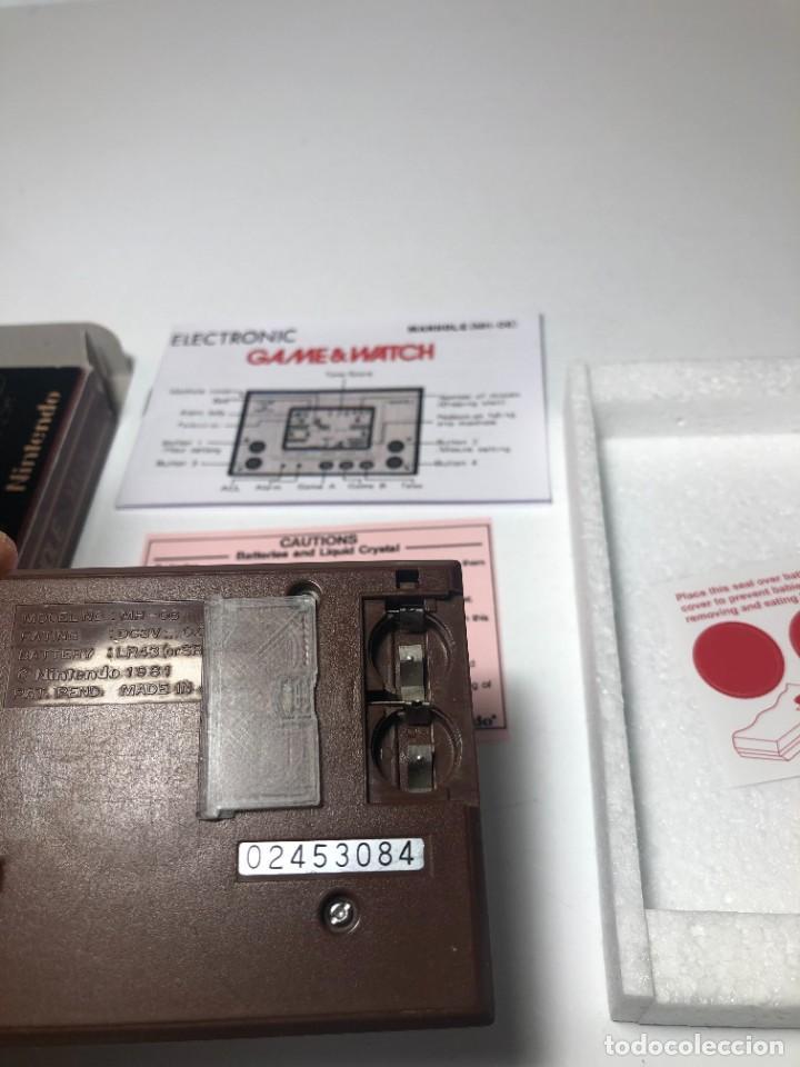 Videojuegos y Consolas: Game Watch Nintendo Manhole ,coleccion Gold - Foto 8 - 225388585