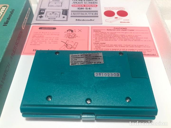 Videojuegos y Consolas: Game Watch Nintendo Green House francesa doble pantalla multi screen - Foto 3 - 270528888