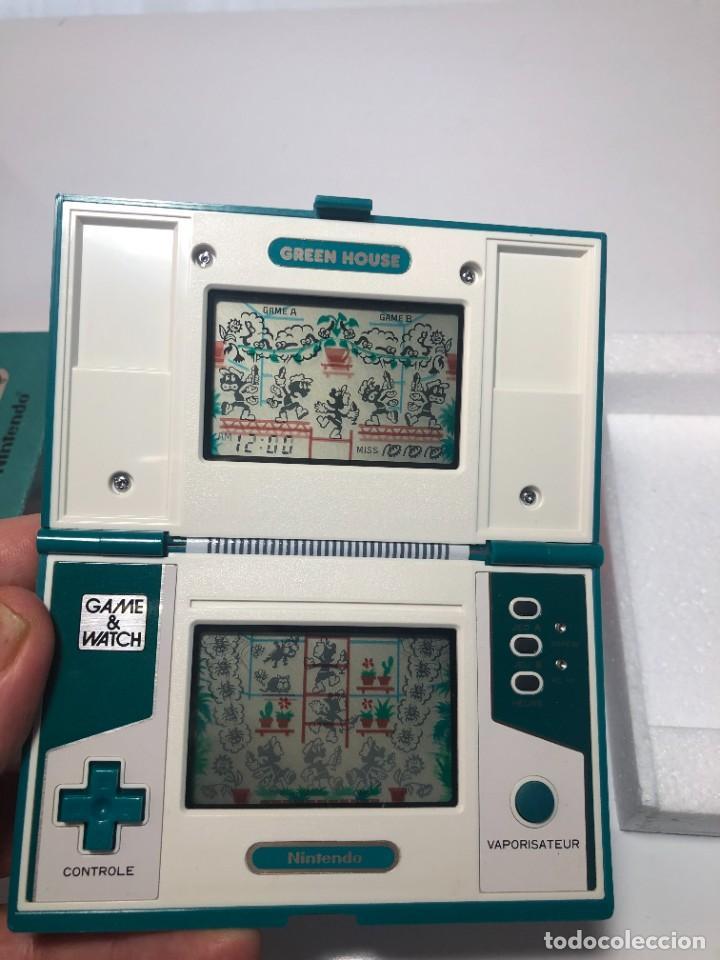 Videojuegos y Consolas: Game Watch Nintendo Green House francesa doble pantalla multi screen - Foto 4 - 270528888