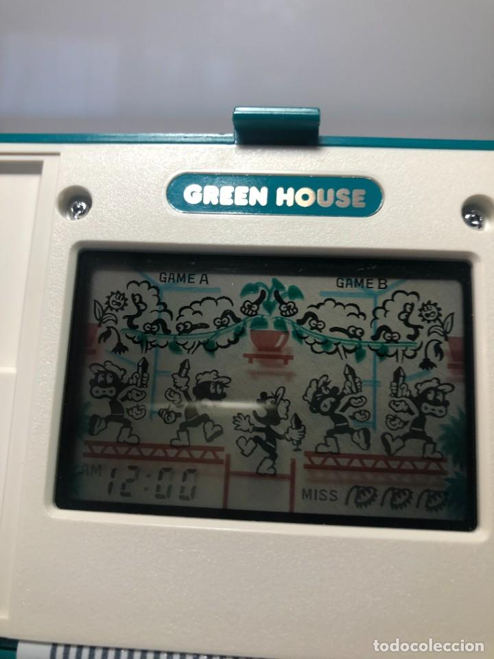 Videojuegos y Consolas: Game Watch Nintendo Green House francesa doble pantalla multi screen - Foto 5 - 270528888