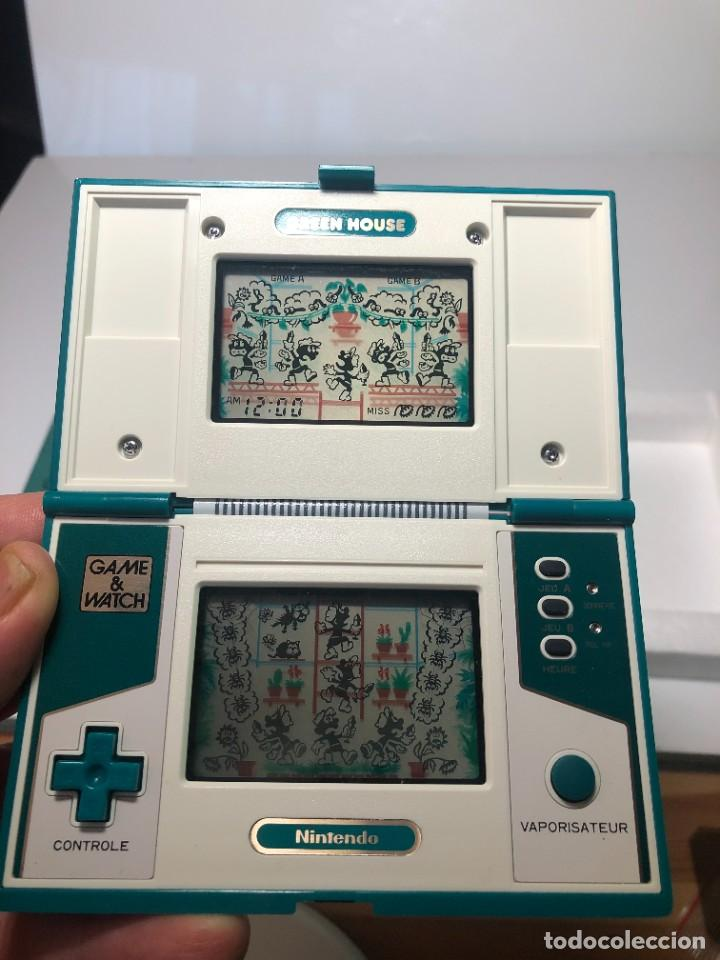 Videojuegos y Consolas: Game Watch Nintendo Green House francesa doble pantalla multi screen - Foto 7 - 270528888
