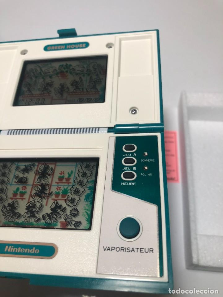 Videojuegos y Consolas: Game Watch Nintendo Green House francesa doble pantalla multi screen - Foto 8 - 270528888