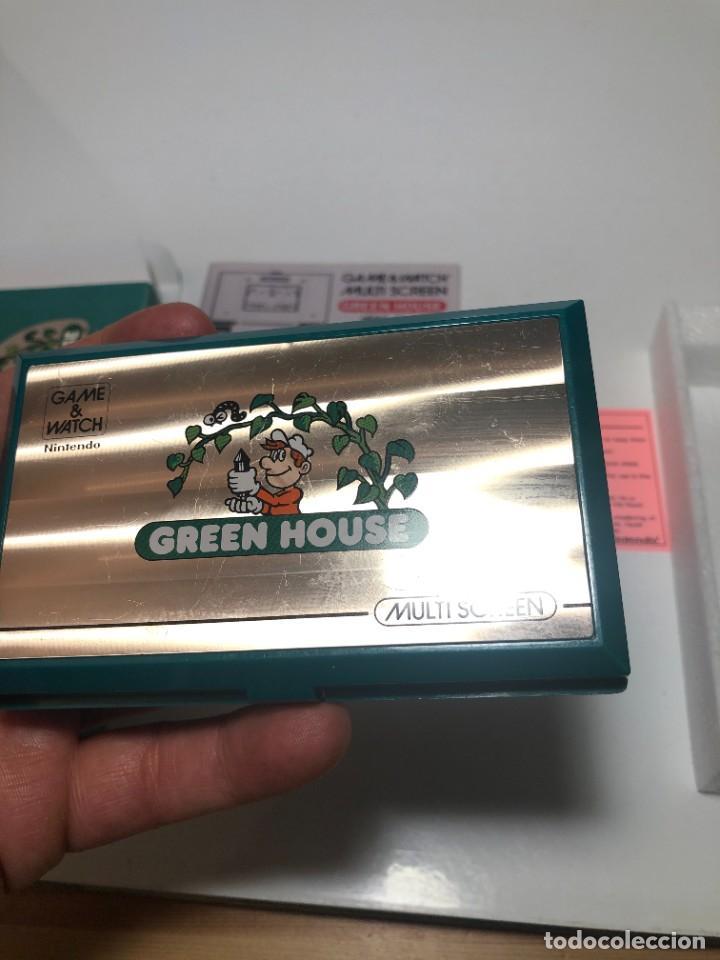 Videojuegos y Consolas: Game Watch Nintendo Green House francesa doble pantalla multi screen - Foto 11 - 270528888