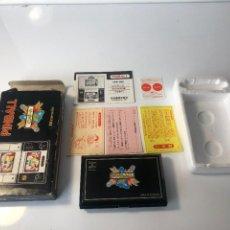 Videojuegos y Consolas: GAME WATCH NINTENDO PINBALL DOBLE PANTALLA, MULTISCREEN ,JUEGO ELECTRONICO. Lote 225390697