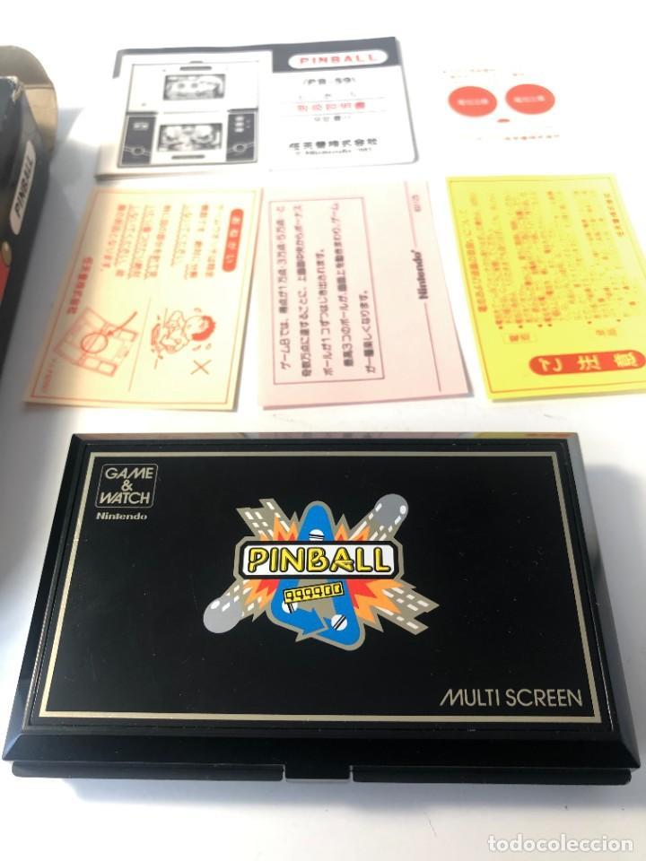 Videojuegos y Consolas: Game Watch Nintendo Pinball doble pantalla, multiScreen ,juego electronico - Foto 3 - 225390697