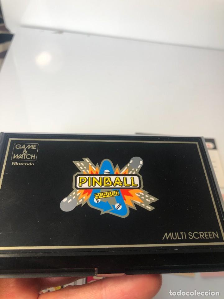 Videojuegos y Consolas: Game Watch Nintendo Pinball doble pantalla, multiScreen ,juego electronico - Foto 5 - 225390697