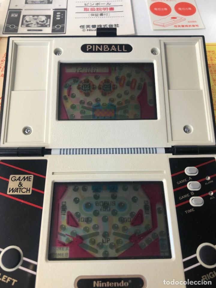 Videojuegos y Consolas: Game Watch Nintendo Pinball doble pantalla, multiScreen ,juego electronico - Foto 8 - 225390697