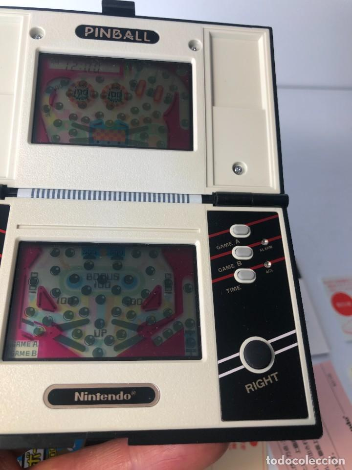 Videojuegos y Consolas: Game Watch Nintendo Pinball doble pantalla, multiScreen ,juego electronico - Foto 13 - 225390697