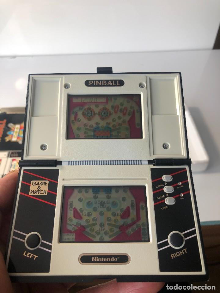 Videojuegos y Consolas: Game Watch Nintendo Pinball doble pantalla, multiScreen ,juego electronico - Foto 14 - 225390697