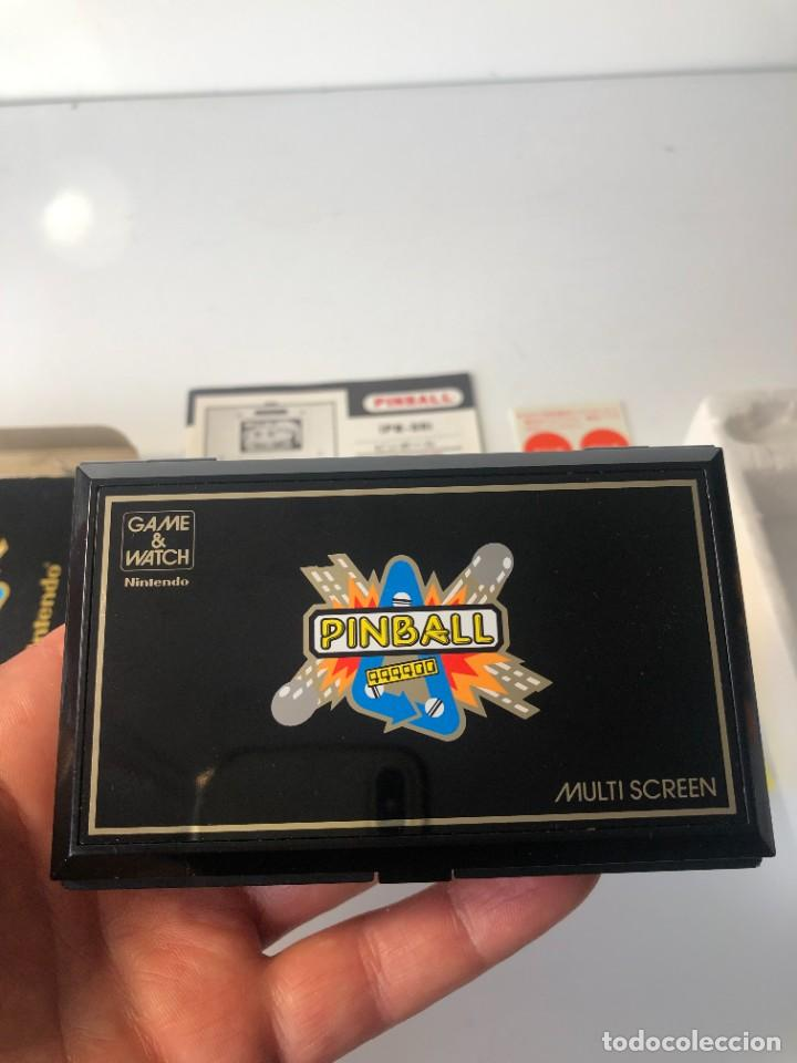Videojuegos y Consolas: Game Watch Nintendo Pinball doble pantalla, multiScreen ,juego electronico - Foto 15 - 225390697