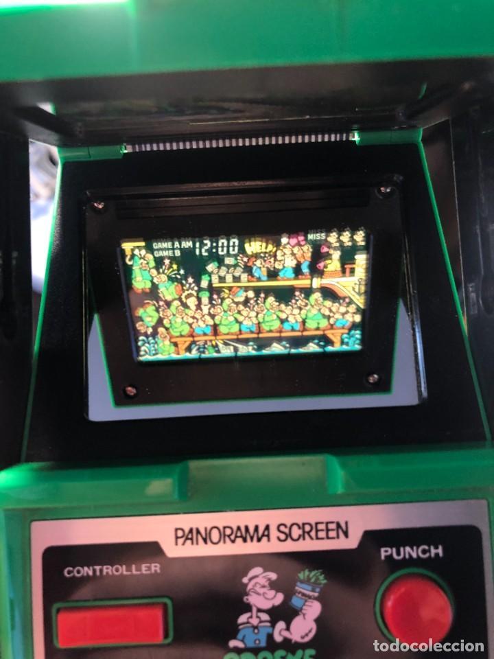 Videojuegos y Consolas: Game Watch Nintendo Popeye Panorama Screen ,juego electronico - Foto 6 - 225392045