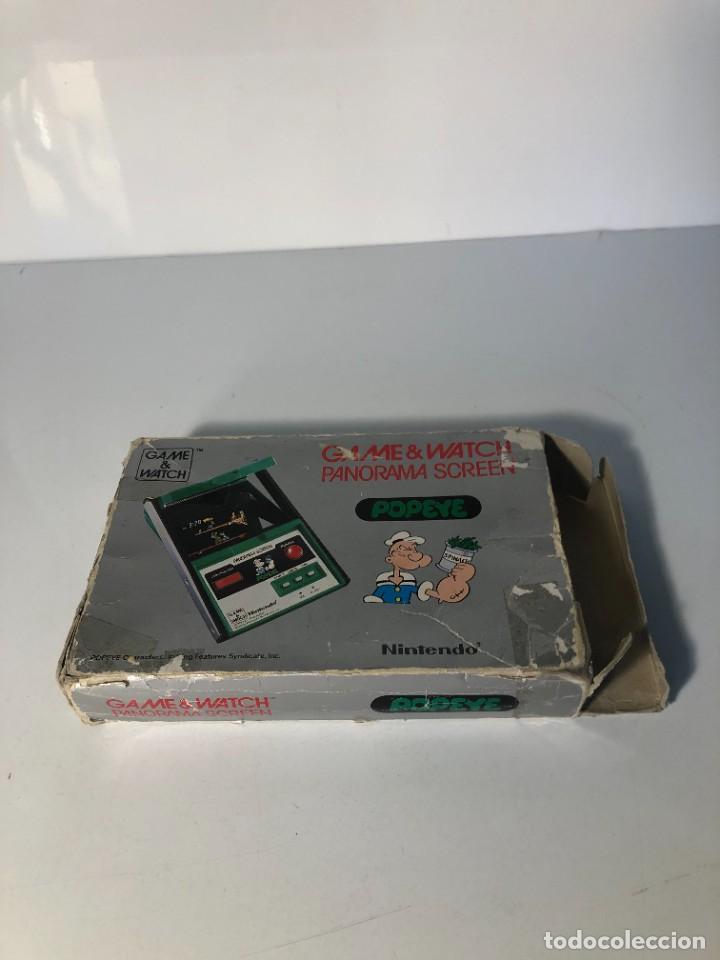 Videojuegos y Consolas: Game Watch Nintendo Popeye Panorama Screen ,juego electronico - Foto 10 - 225392045