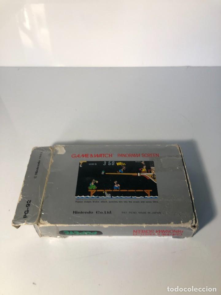 Videojuegos y Consolas: Game Watch Nintendo Popeye Panorama Screen ,juego electronico - Foto 12 - 225392045