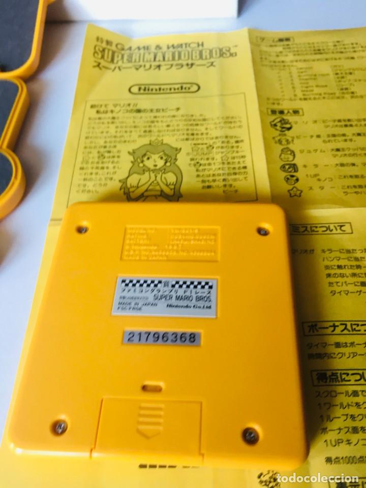 Videojuegos y Consolas: Game Watch Nintendo Super Mario Race edicion limitada ,juego electronico - Foto 10 - 225394156