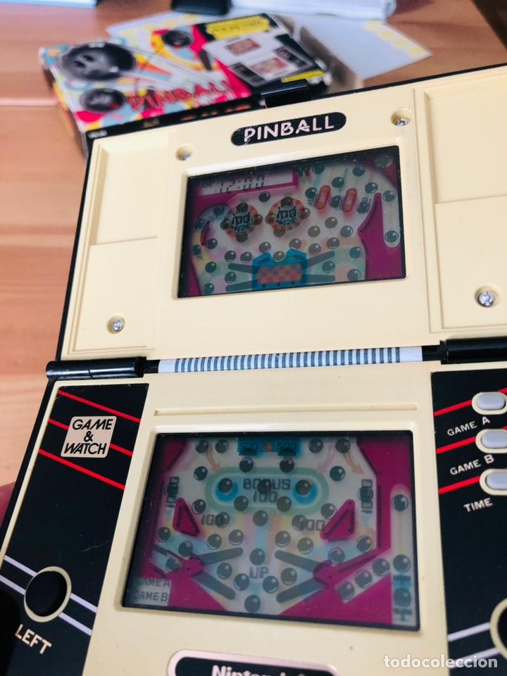 Videojuegos y Consolas: Game Watch Nintendo Pinball, multi screen,coleccion Pocket Size doble panatalla - Foto 8 - 225385425