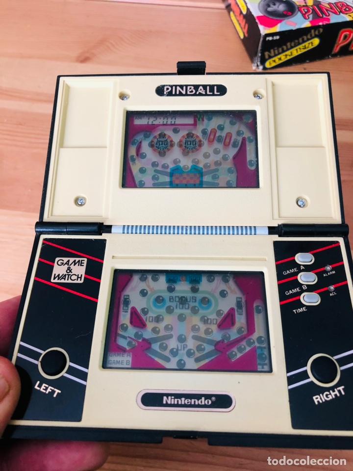 Videojuegos y Consolas: Game Watch Nintendo Pinball, multi screen,coleccion Pocket Size doble panatalla - Foto 10 - 225385425