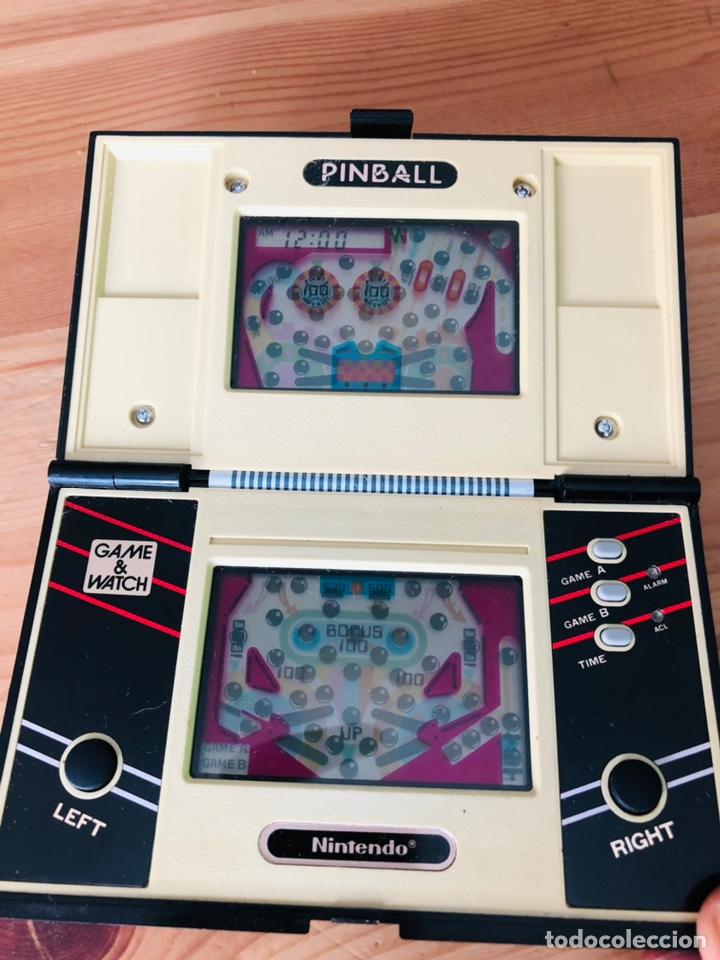 Videojuegos y Consolas: Game Watch Nintendo Pinball, multi screen,coleccion Pocket Size doble panatalla - Foto 11 - 225385425