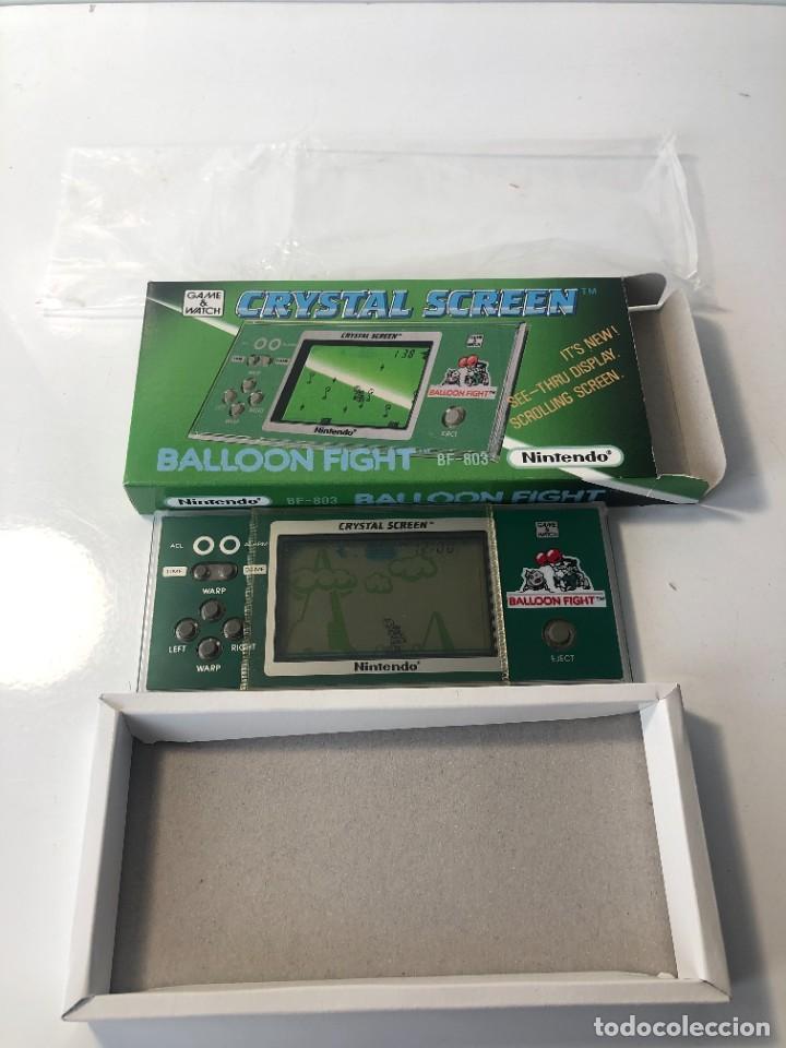 Videojuegos y Consolas: Game Watch Nintendo Balloon Fight Crystal screen, cristal screen ,juego electronico - Foto 2 - 226157025